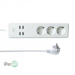 WOOX Smart Indoor Powerstrip EU